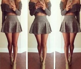 Long-sleeved dresses..